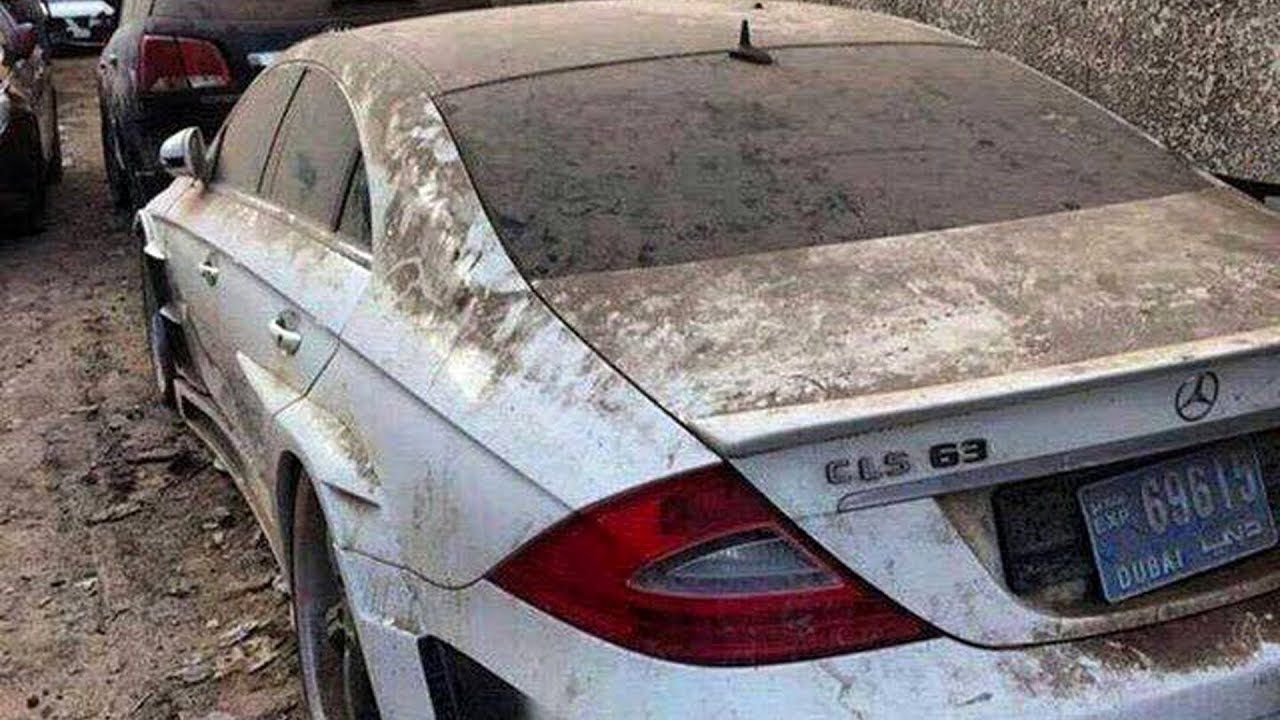 Amazing Abandoned Cars In Dubai Super Cars Luxury Vehicles Abandoned Cars In Dubai Abandoned Cars Super Cars