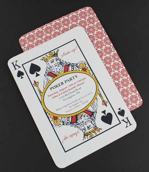 DIY Poker Night Invitation Template From DownloadandPrint Http - Party invitation template: casino theme party invitations template free