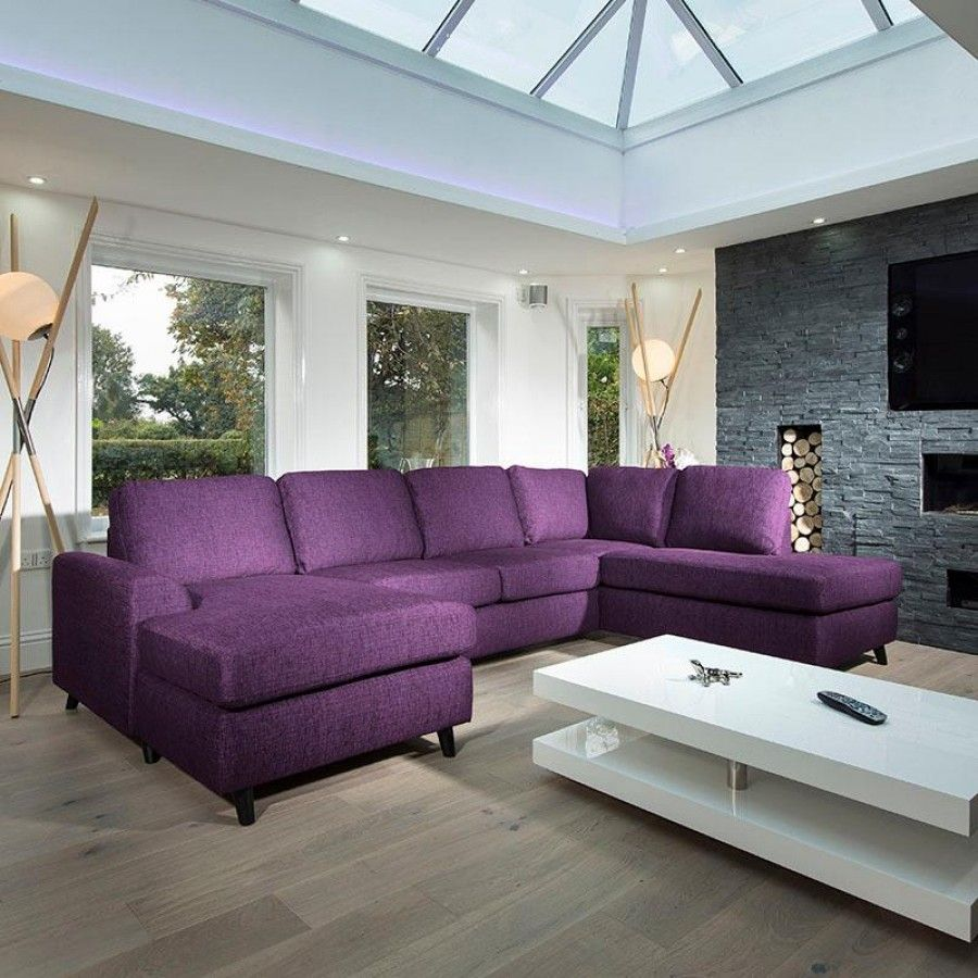 Large Modern Luxury Sofa/Settee 3x2mtr L Shape Corner Group ...