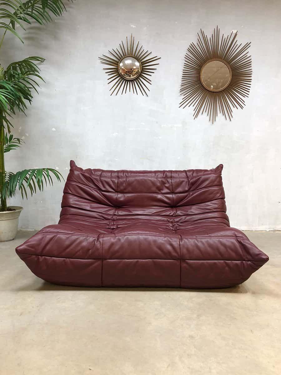 Leren Bank Denmark.Vintage Leren Design Bank Sofa Togo Ligne Roset Michel Ducaroy