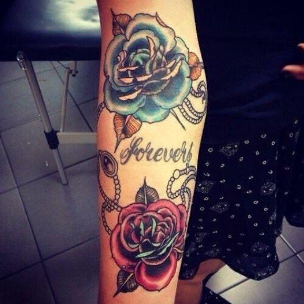 Residential   Girl arm tattoos, Rose tattoo on arm, Rose tattoos