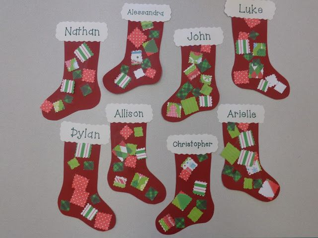 Terrific Preschool Years Preschool Christmas Crafts Cute Christmas Stockings Christmas Program