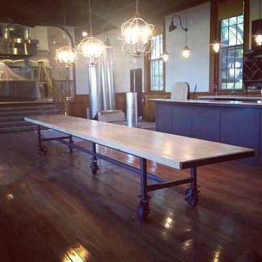 Custom Made Communal Dining Table | Farm Table | Pinterest | Tables ...