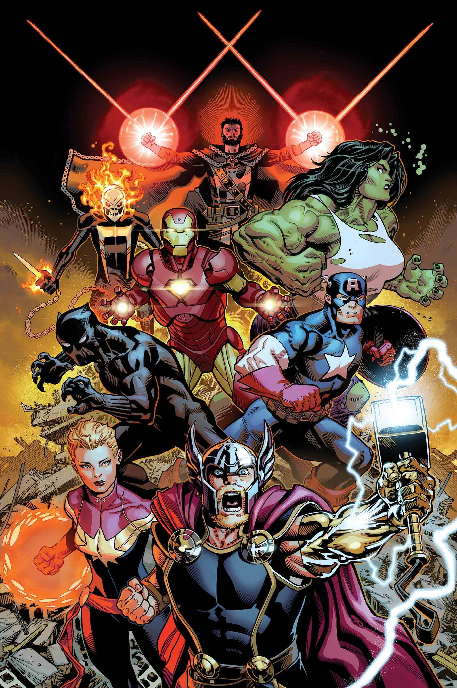 """Avengers #1 Poster by McGuinness (24"""" x 36"""") Rolled/New ..."""