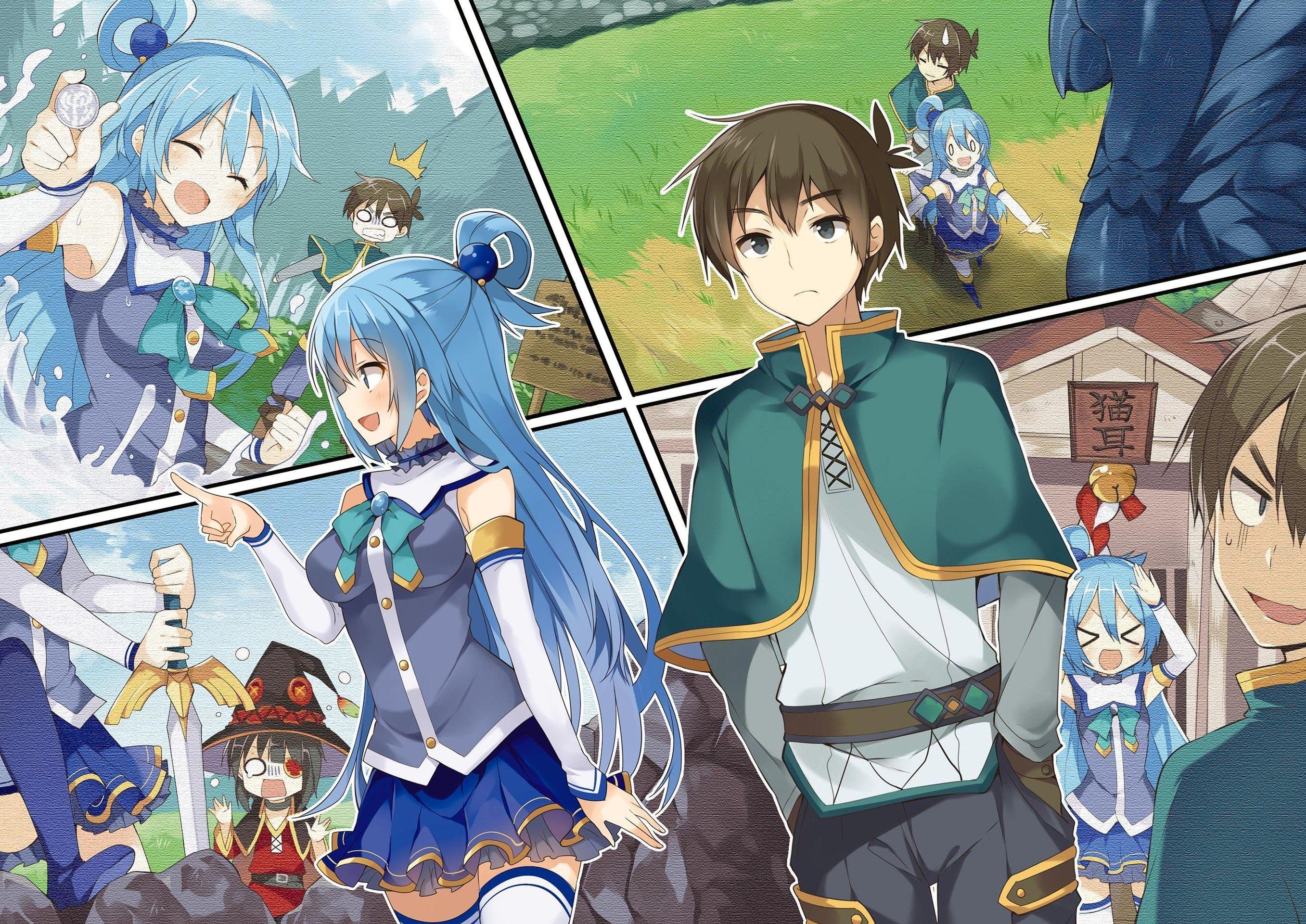 2714x1920 Hd Wallpaper Konosuba Gods Blessing On This Wonderful World Anime Konosuba Foto Na Piscina