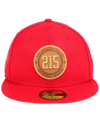 fc3dd9f77 New Era Philadelphia Phillies Area Patch 59FIFTY Fitted Cap - Red 7 ...