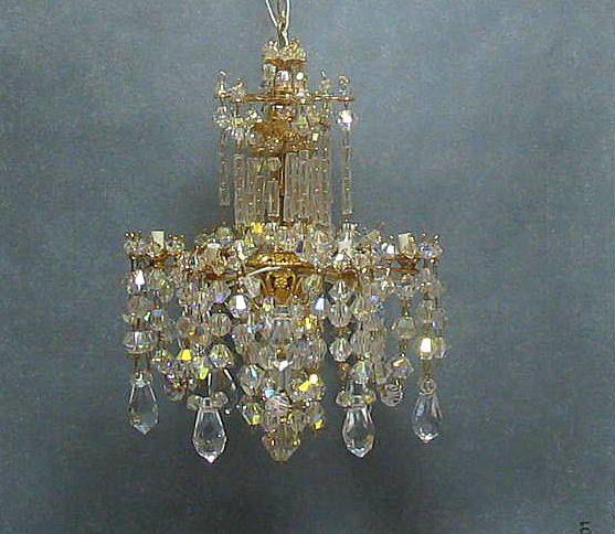 Miniature crystal dollhouse chandelier 17500 via etsy miniature crystal dollhouse chandelier 17500 via etsy aloadofball Choice Image