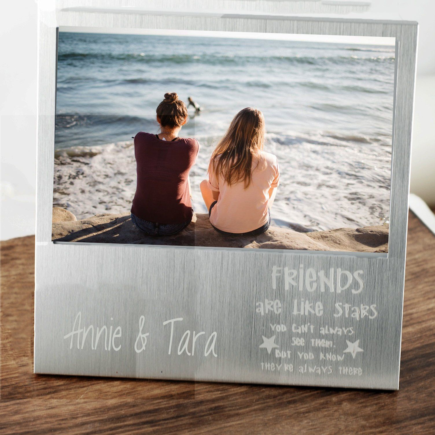 Best friend birthday gifts personalized picture frame