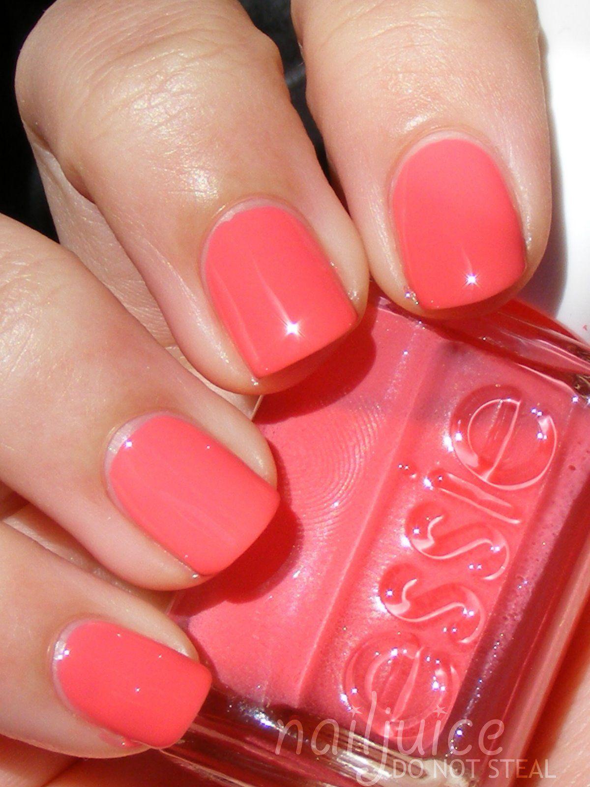 Would like... Essie Cute As A Button   Nails   Pinterest   Esmalte ...