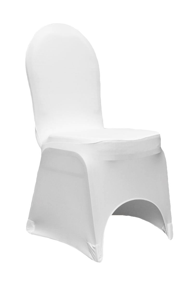 black banquet chair covers for sale west elm spandex cover white as low 2 48 diy