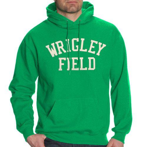 finest selection aef28 86d05 Wrigley Field 'Shamrock Green' Hooded Sweatshirt $39.95 ...