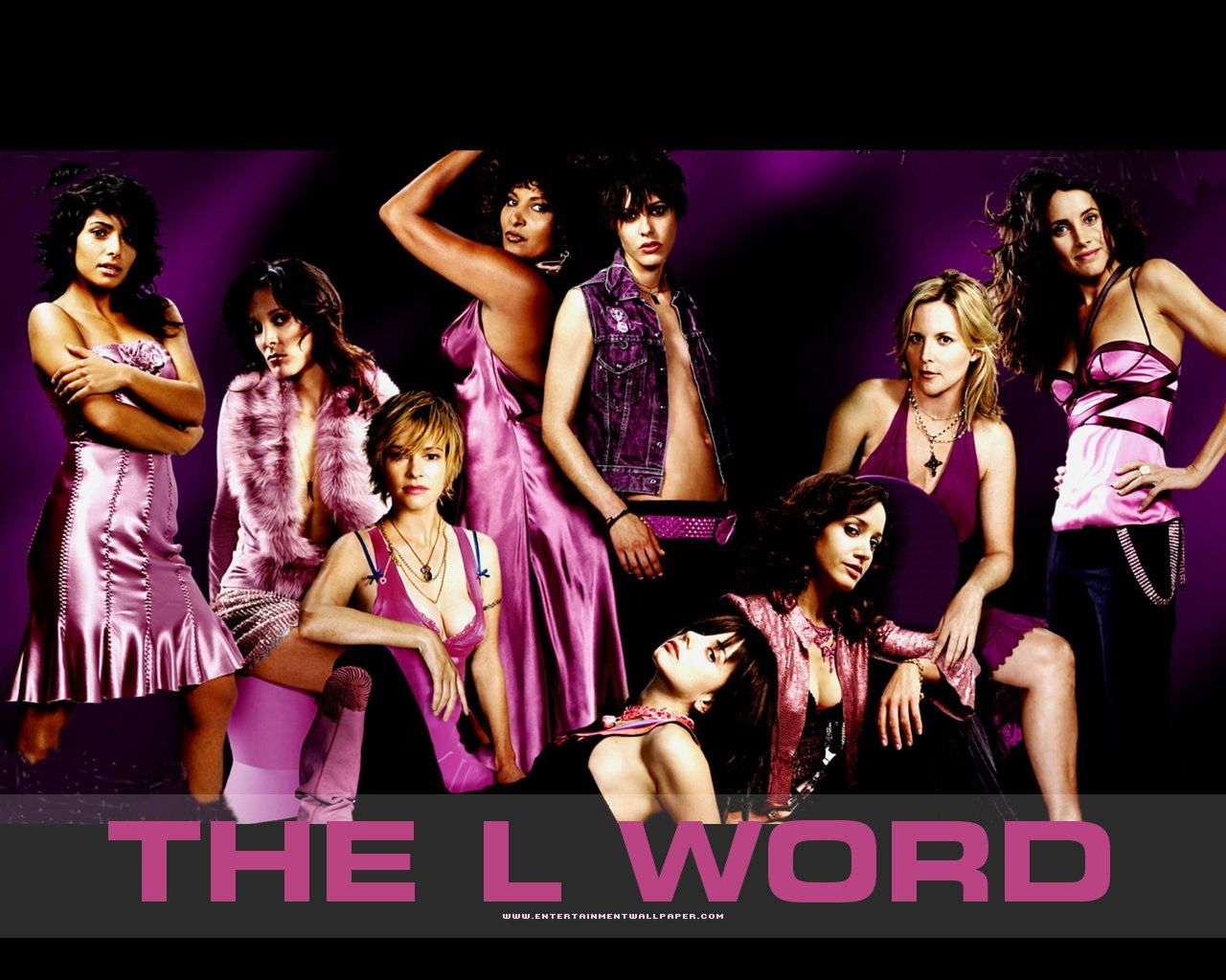 The L Word (2004–2009) ~~ Drama | Romance ~~ Follows the lives and loves of a small, close-knit group of lesbians living in Los Angeles as well as the friends and family members that either support or loath them.