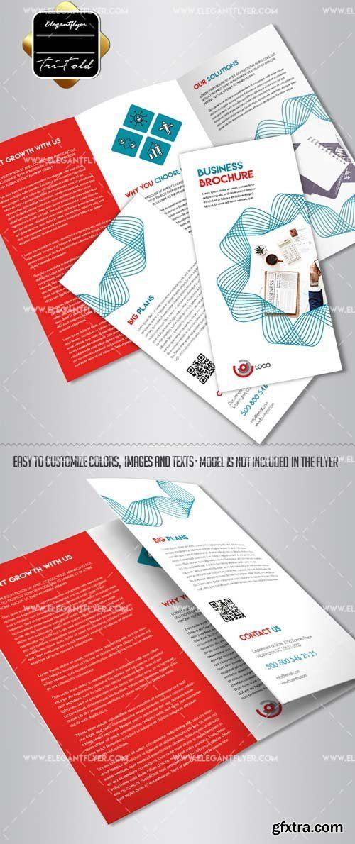 Business V41 2018 Tri Fold Brochure Psd Template Photoshop