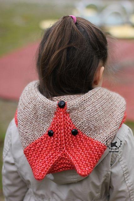 Sly Fox Hood knitting pattern by Ekaterina Blanchard on Ravelry