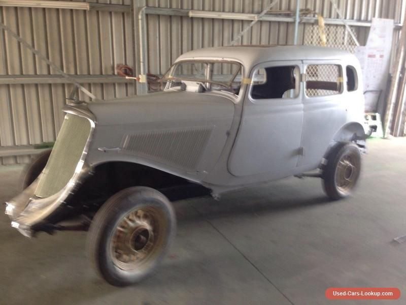 Studebaker Dictator six 1934 Rat rod Bomb Gangster Flathead Vintage ...