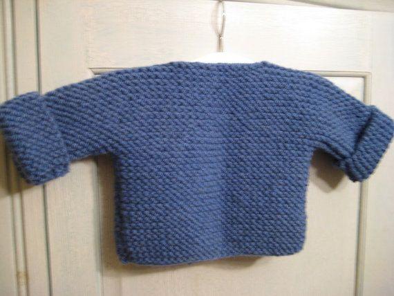 3deebc50c695 Bebeknits Simple French Style Baby Cardigan Knitting Pattern