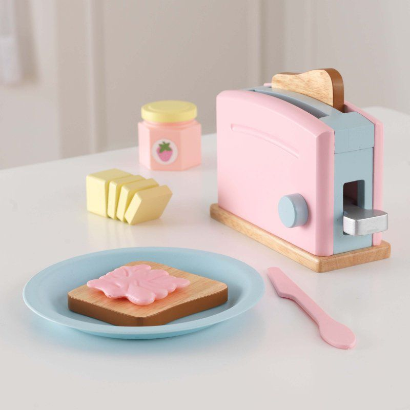 KidKraft Pastel Toaster Set - 63374