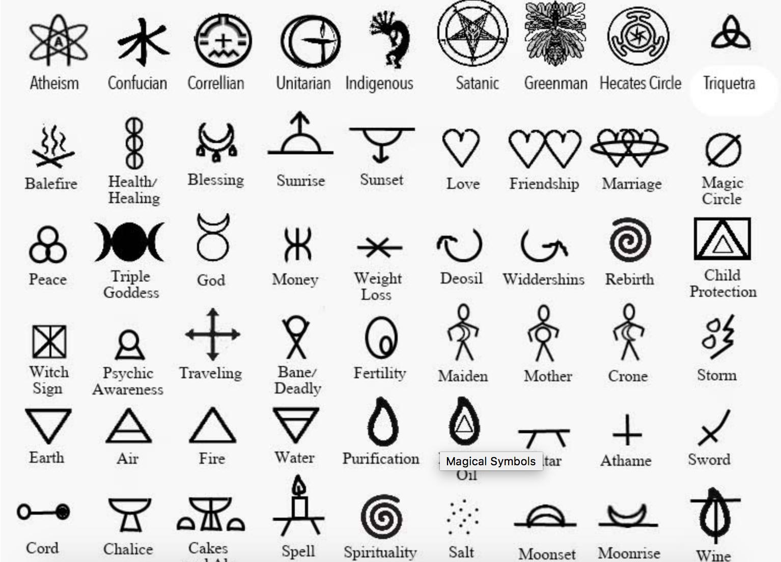 Popular Simbolos Tattoo Tatuagem Glifo