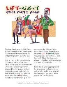 office christmas party games - Christmas Office Party Games