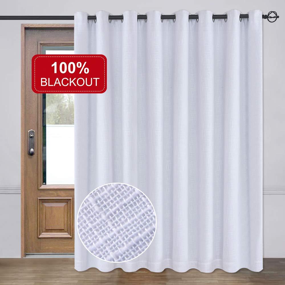 Amazon Com Rose Home Fashion Rhf 100 Blackout Patio Door Curtains Sliding Door Curtains Li Patio Door Curtains Sliding Glass Door Curtains Insulated Curtains