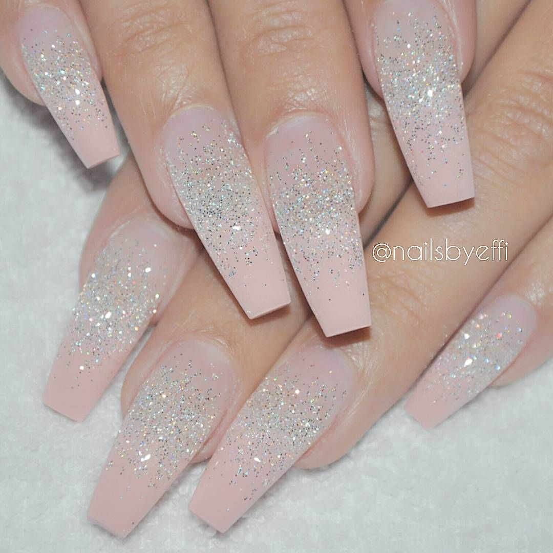 "This nail tech is amazing!!! ""Flamingo Rose with Diamond #gel ..."