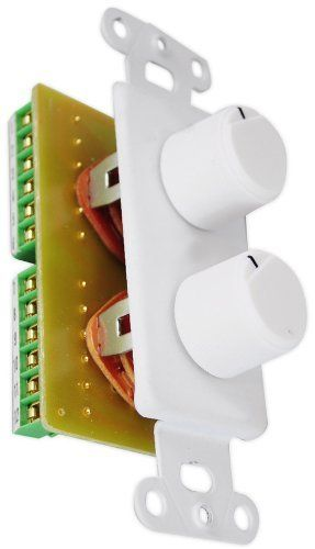 PyleHome PVCD15 In Wall Two Speaker Dual Knob Independent