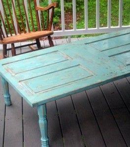 Mesas Feitas com Portas Antigas Furniture Pinterest Doors