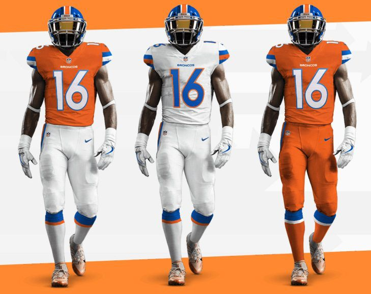 Nice Broncos fan made an incredibly detailed alternate uniform that  supplier