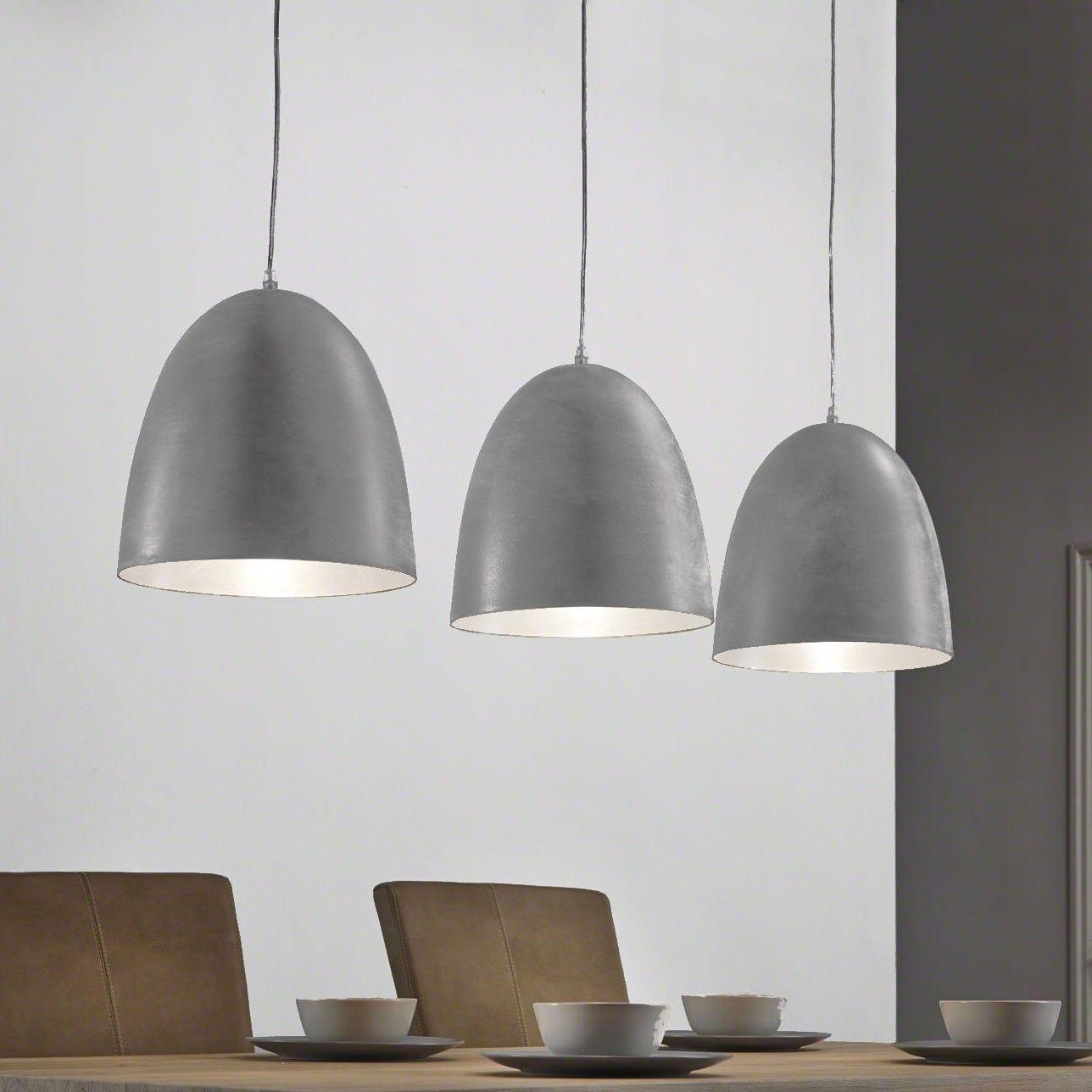 Industriele Hanglamp Florence 3 Lamps Kleur Grijs Industriele Hanglampen Hanglamp Lampen