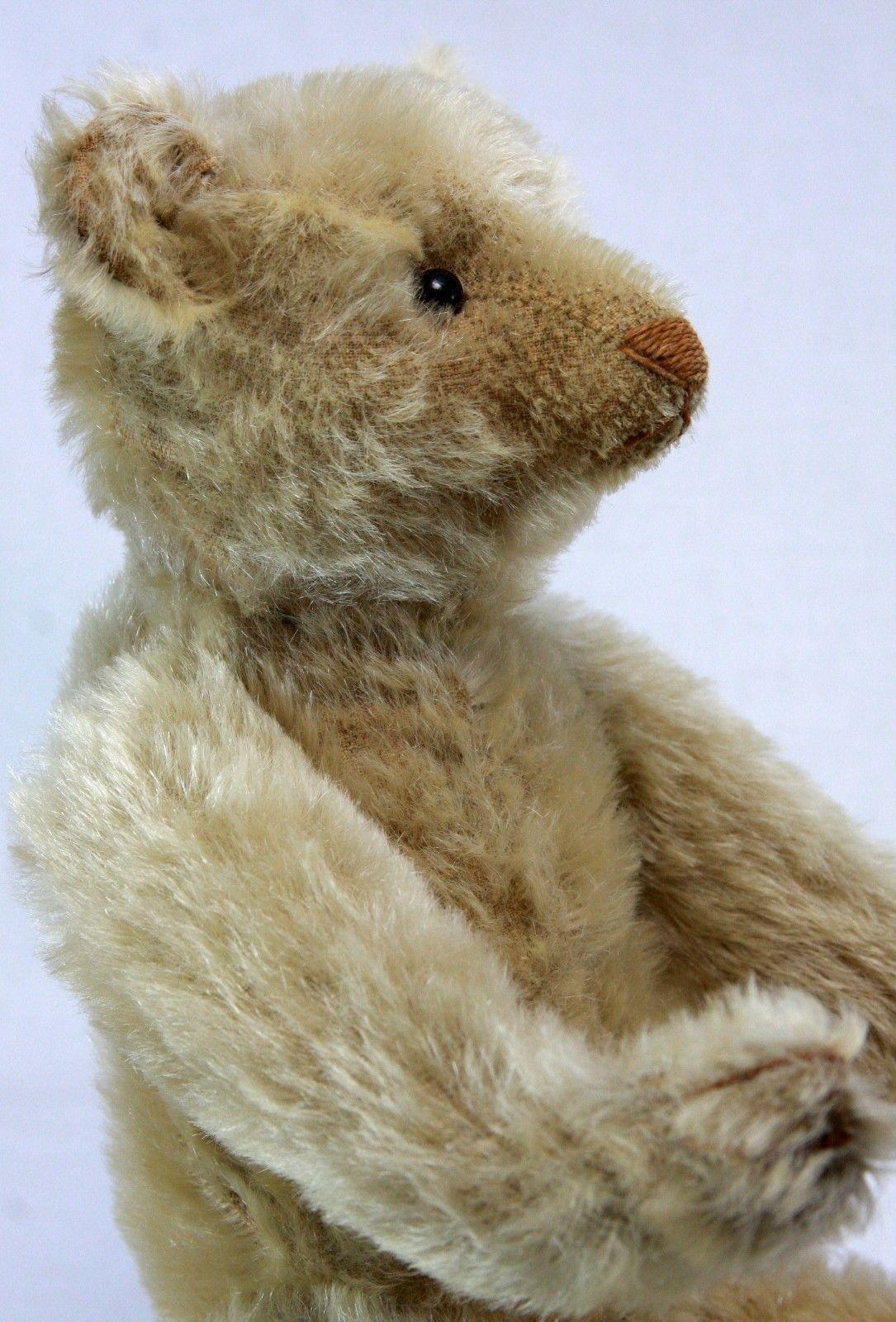 Antique Early White Steiff Bear C1905 eBay Mohair