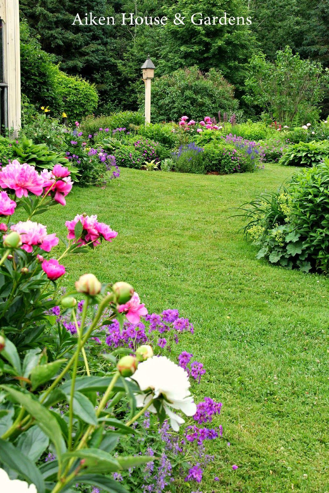 Aiken House Gardens In An English Country Garden English Country Gardens Cottage Garden Plants Southern Garden