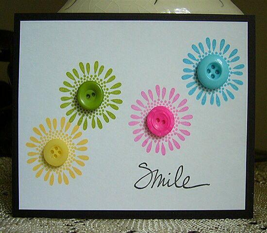 Scrap cartão Flores - Inspiração para fazer o seu