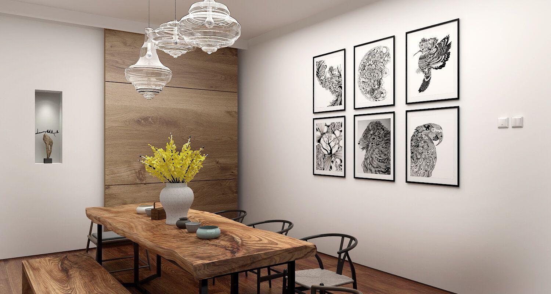 Interior Render Of The Week Natural Dining Room Brings Us Back To
