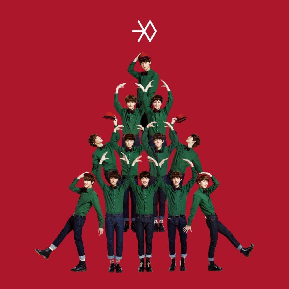 Exo Christmas Album Cover.Exo Miracles In December Album Cover Kpop Albums