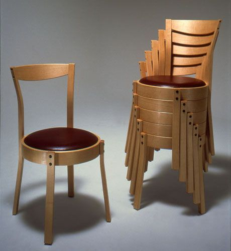 Quality Handcrafted Stackable Dining Chairs - Curtis Erpelding ...