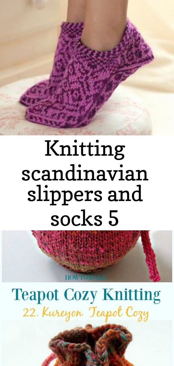 Photo of Knitting scandinavian slippers and socks 5 :  Martingale – Knitting Scandinavi…