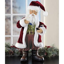 24 inches Fabric Santa