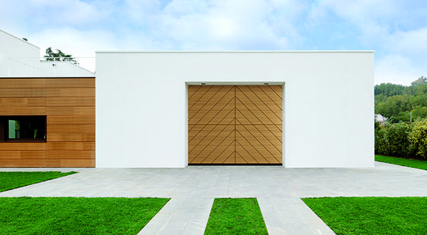 Revolutionary Two Section Overlap Wood Doors Designed And Crafted In