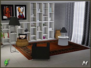 amazing bookshelves from mango sims