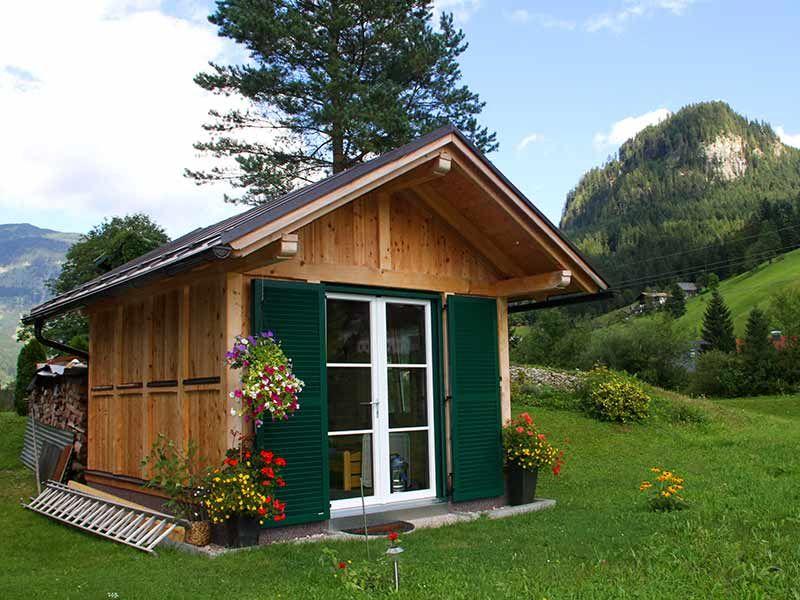 ZEBAUZimmerei Individuelle Gartenhäuser aus Holz