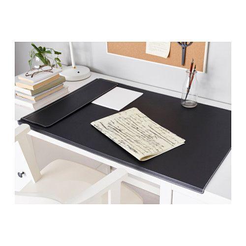 Rissla Desk Pad Black Desk Pad Desk Cover Ikea Desk
