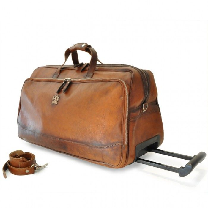 Pratesi luggage bag leather bag trolley borsa da viaggio in pelle