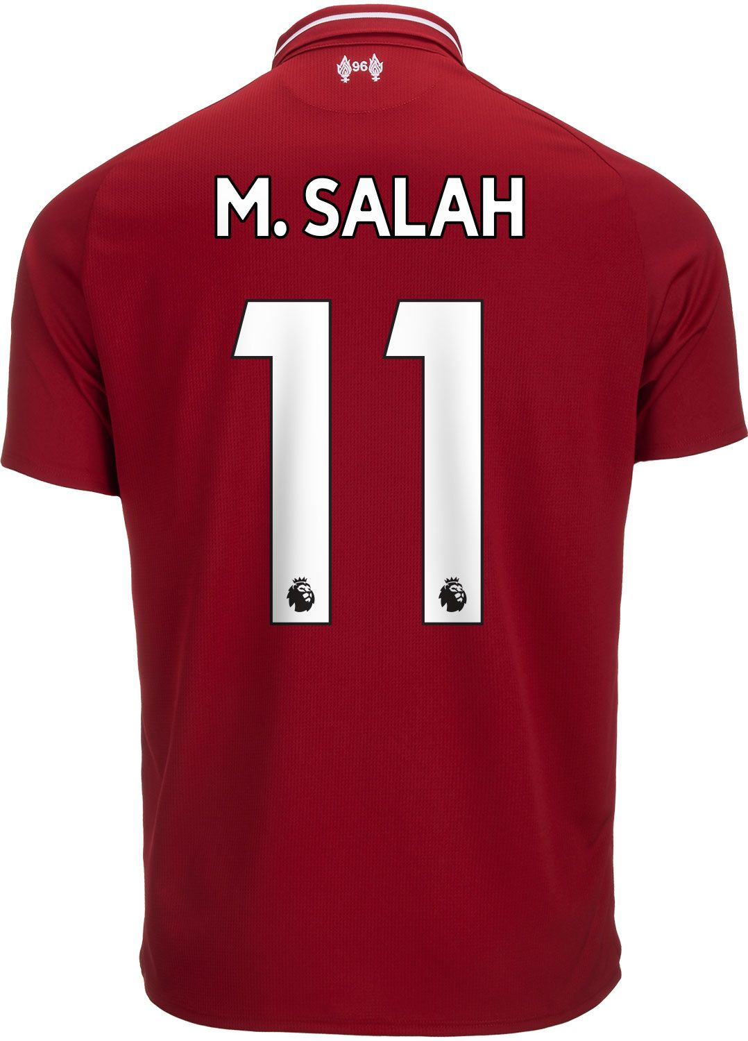2fb2e4f18 2018/19 New Balance Mohamed Salah Liverpool Home Jersey | Players We ...
