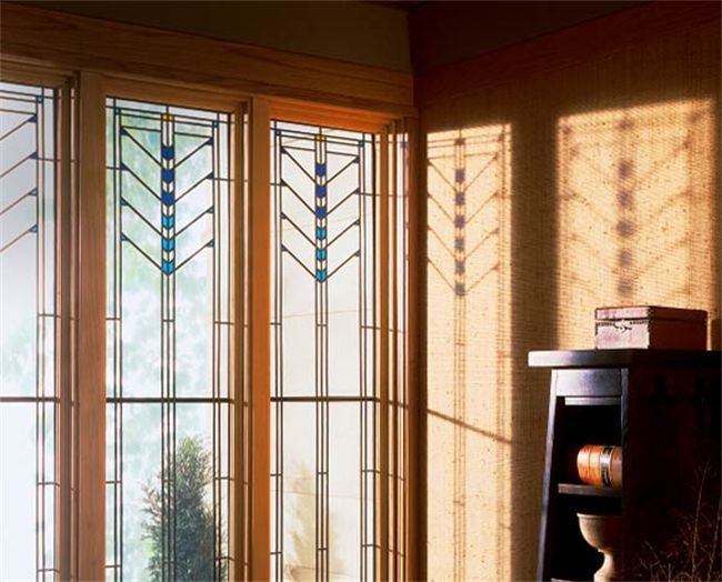 Art Glass Frank Lloyd Wright Casement Windows