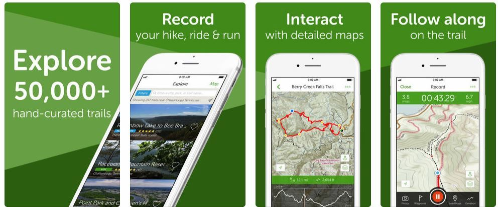 31 Best Hiking Apps for Android and iOS (FREE and PAID ...