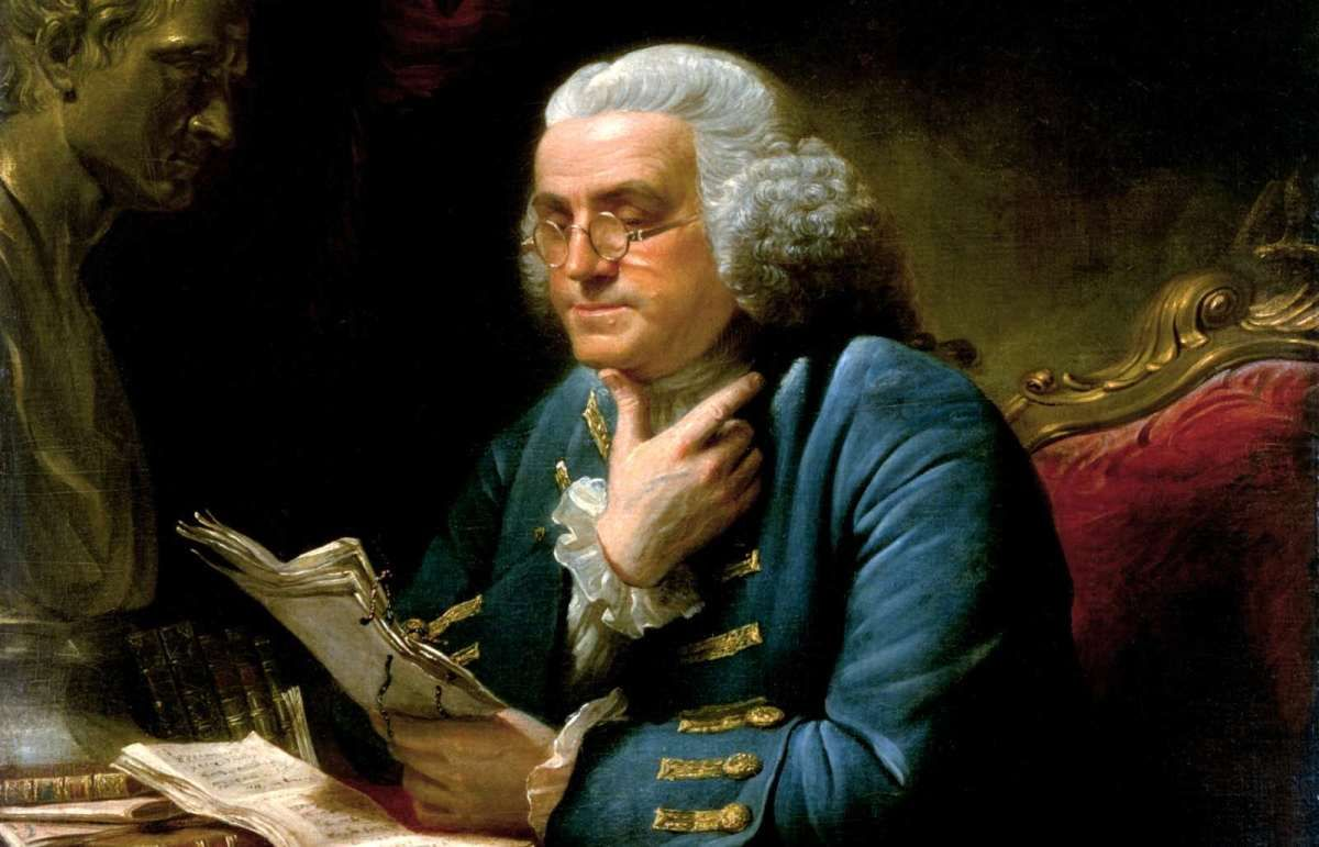Chart Of 13 Virtues Ben Franklin And Sales Success In