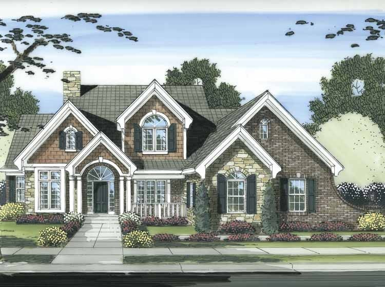 Cape Cod House Plan With 2873 Square Feet And 4 Bedrooms S From Dream Home Source House Plan Cape Cod House Plans Cape Cod Style House Colonial House Plans