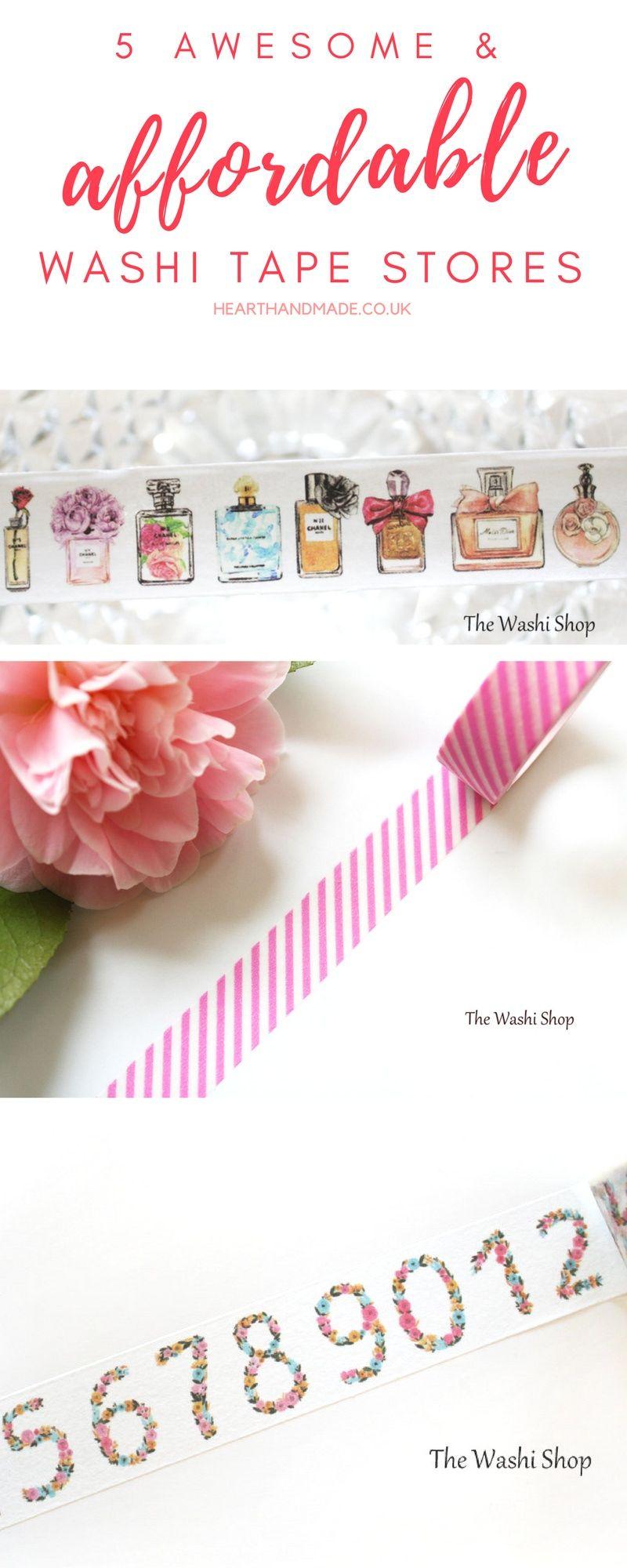 5 доступных кассетных магазинов Washi, которые вам обязательно понравятся!