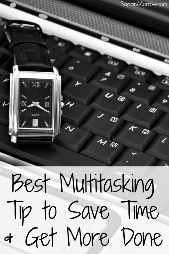 My BEST multitasking tip for how to save time & get more done! This time management tip will help you continue to produce high-quality work in less time.