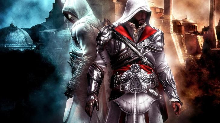 Assassins Creed Altair And Ezio Hd Wallpaper Juegos De Arte